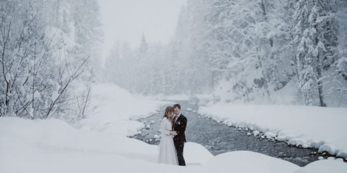 KATJA + FABIAN // A COZY WINTER WEDDING