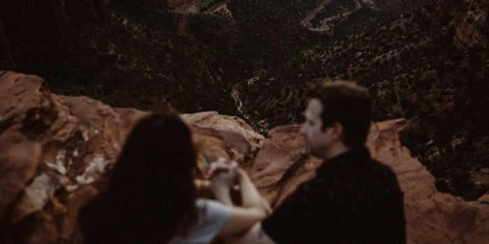 IRENA + RYAN // ANNIVERSARY PHOTOS IN ZION NATIONAL PARK